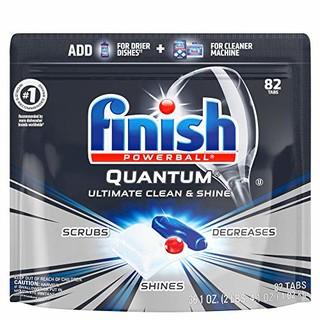 中亚Prime会员 : Finish 亮碟 Quantum系列 洗碗机洗涤块 82块 *3件