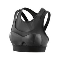 思金斯(skins)A400系列女款运动背心 女式带内衬运动文胸 黑色 XS *3件