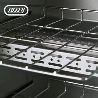 TOFFY TS1 日本复古双层烤箱 (粉)