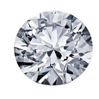 Blue Nile 1.06克拉 圆形切割钻石(切工EX,成色H,净度VVS2)