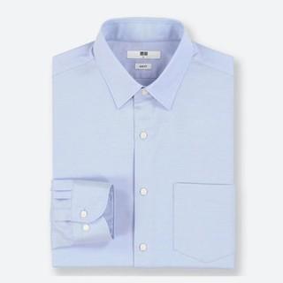 UNIQLO 优衣库 416855 男款精仿弹力提花衬衫