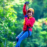 雙11預售:泰國清邁叢林飛躍一日游
