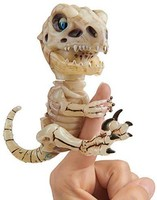 WowWee Fingerlings 未打結骨頭骨架 T-Rex Gloom (Sand) 多種顏色