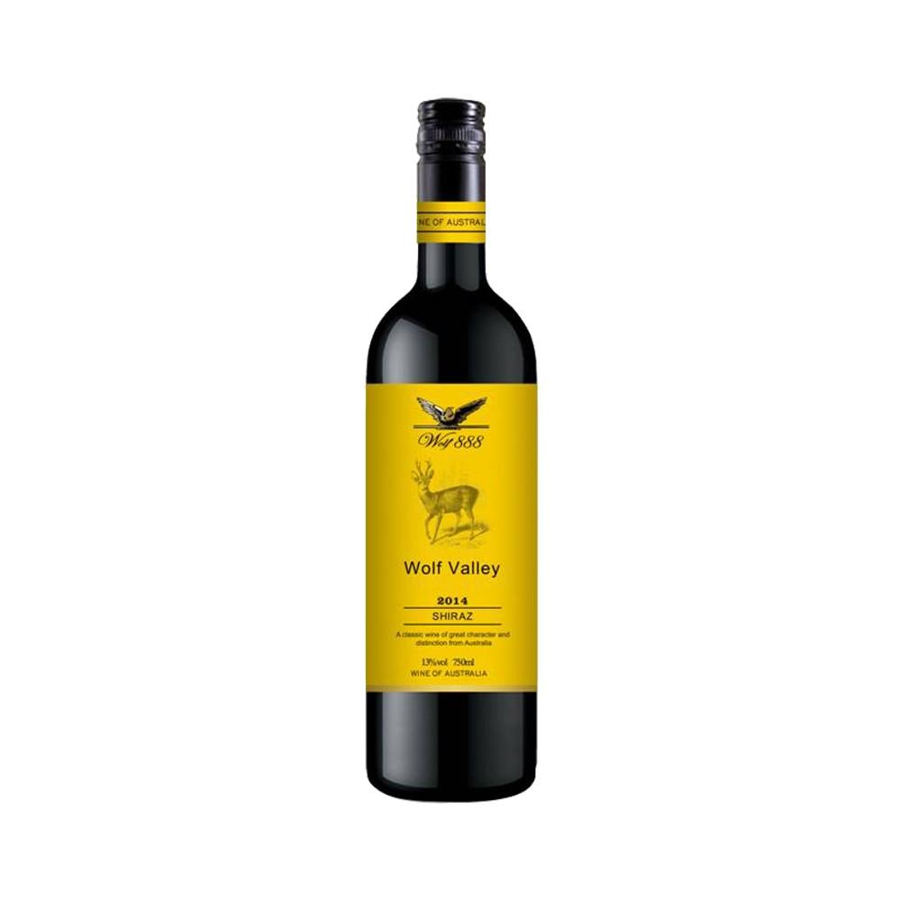88VIP、有券的上 : wolf valley 禾富 西拉干红酒葡萄酒 750ml
