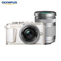 奥林巴斯(OLYMPUS)E-PL10 14-42mm EZ+40-150mm R微单电/数码相机 epl10防抖照相机 双镜头 白色