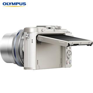 OLYMPUS 奥林巴斯 E-PL10 微单电相机 (白色、14-42mm EZ + 40-150mm R 双镜头、套机)