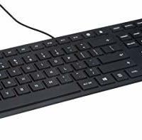 CHERRY 樱桃  JK-1600EU USB 键盘 英语键盘版面 黑色