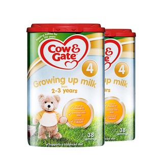 Cow&Gate 牛栏 幼儿奶粉 4段 800g*2罐 *2件