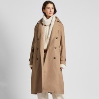UNIQLO 优衣库 422496 女装全棉风衣