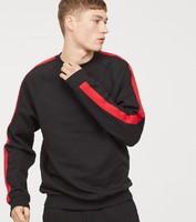 H&M DIVIDED 0721476 条纹加绒卫衣