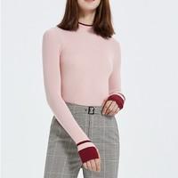 Five Plus/5+ 2ZE3030100 女士撞色修身针织衫