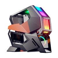 骨伽COUGAR 征服者2代全塔式电竞游戏电脑机箱水冷侧透RGB灯效