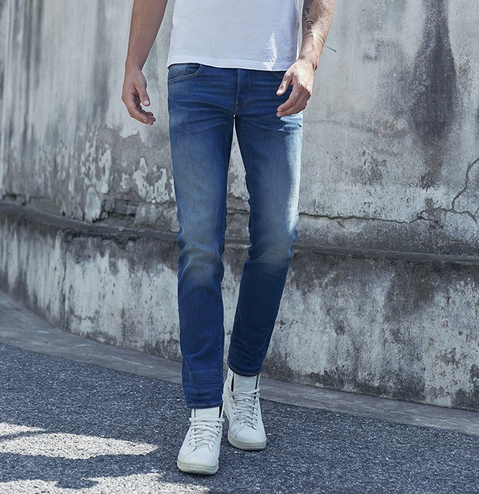 G-STAR RAW3301 男士直筒牛仔裤