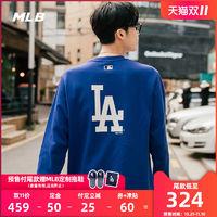 MLB 2019F/W 经典背部大LOGO装饰时尚长袖卫衣-31MTR1941 过瘾奇妙夜
