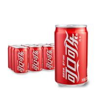限华南:Coca-Cola 可口可乐 碳酸饮料 200ml*12罐
