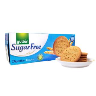 西班牙进口 谷优(Gullon) 低糖粗麦消化饼   酥性饼干 木糠杯原料饼干 400g *9件