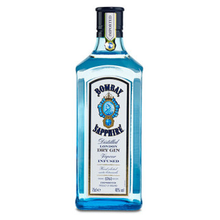 Bombay 孟买 蓝宝石金酒 750ml *2件