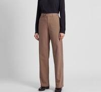 UNIQLO 优衣库 设计师合作款 419232 格纹宽腿裤