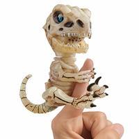 中亚Prime会员 : WowWee Fingerlings 未打结骨头骨架 T-Rex Gloom (Sand) 多种颜色