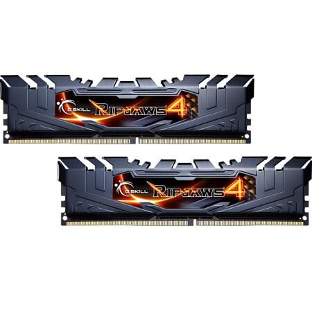 G.SKILL 芝奇 RIPJAWS 4 DDR4 3600 台式机内存条 16G(8G*2)