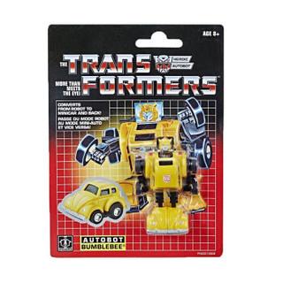 Hasbro 孩之宝 变形金刚  G1复刻迷你 玩具大黄蜂