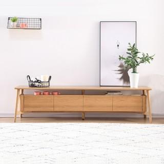 原始原素  SLS-BTV1722 北欧纯全实木电视柜 1.8米