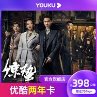 优酷VIP会员两年卡youku会员2年直充到账