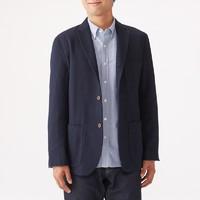 MUJI 无印良品 18AD211 男式再生羊毛混纺夹克