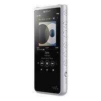 SONY 索尼 NW-ZX505 高解析度音乐播放器 (银、16GB、3.6英寸触摸屏 TFT彩色显示,白色LED背光灯)