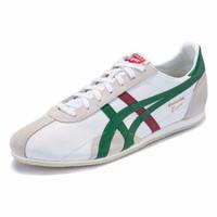Onitsuka Tiger 鬼塚虎 RUNSPARK TH201L-9950 运动休闲鞋 (橄榄绿)