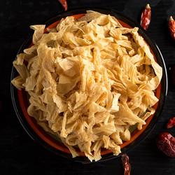 手工豆腐皮干货东北干豆皮丝批发凉拌菜人造肉豆制品油豆皮腐竹