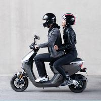 摩灵电动摩托车 炫光灰