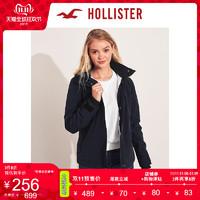 Hollister2019年秋季新品短款抓绒内衬夹克 女 300854-1 双11爆款