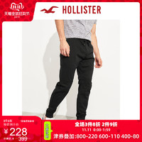 Hollister2019年秋季新品宽松弹力斜纹布慢跑休闲裤 男 244235-1 双11爆款
