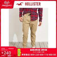 Hollister修身慢跑休闲裤 男 245446-1 双11爆款