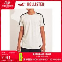 Hollister2019年秋季新品Logo款图案圆领短袖T恤 男 106312-1 双11爆款