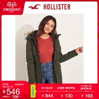 Hollister2019年秋季新品宽松派克大衣 女 301442-1 双11爆款