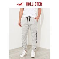 Hollister 宽松抓绒慢跑休闲裤