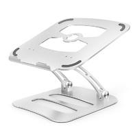 电脑支架桌面增高笔记本托架悬空升降苹果macbook抬高收纳架子办公室折叠铝合金支夹手提散热器底座升高支撑