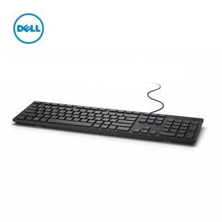 DELL 戴尔 家用外接有线办公巧克力笔记本台机键盘