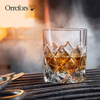 Orrefors 欧瑞诗 水晶玻璃威士忌酒杯 350ml