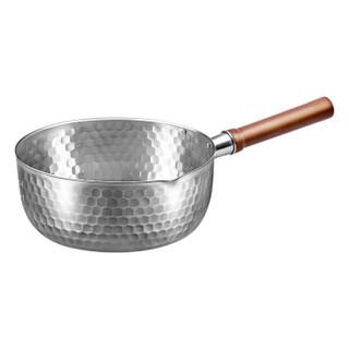 京东PLUS会员、历史低价 : 佳佰 日式不锈钢雪平锅 20cm