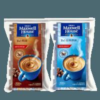 Maxwell House 麦斯威尔 三合一速溶咖啡 原味/特浓 100条