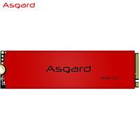 阿斯加特(Asgard)1TB SSD固态硬盘 M.2接口(NVMe协议) AN3+系列-硬核疾速SSD/五年质保
