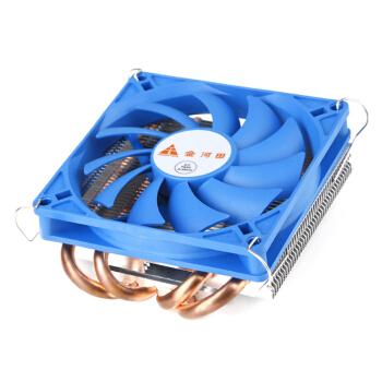 Golden field 金河田 京乐 3.8cm CPU风冷散热器 薄型四铜管
