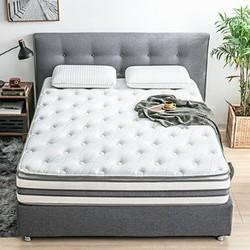 京造 乳胶黄麻弹簧床垫 180*200cm