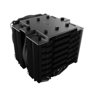 be quiet! DARK ROCK PRO TR4 CPU散热器(AMD Threadripper/双塔双风扇/低噪音/7热管)
