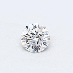 Blue Nile 0.50克拉 圆形切割钻石(切工VG,成色D,净度VVS2)