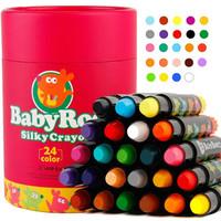 美乐 24色丝滑旋转蜡笔+凑单品