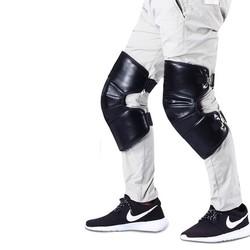 中豹 骑车保暖护膝 35cm 送保暖手套